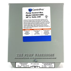 CentriPro Magnetic Contactor Control Box | 3 HP -  230V