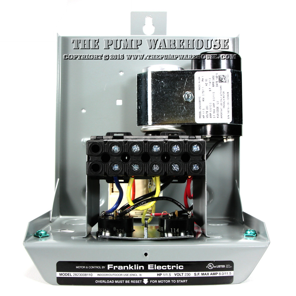Franklin Electric Standard Control Box