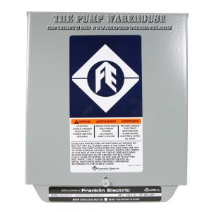 Franklin Electric Standard Control Box | 3 HP - 230V