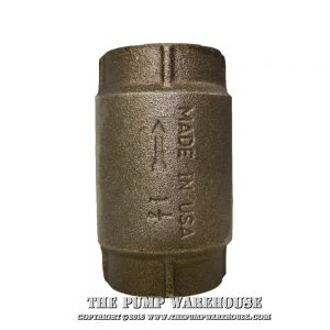 "Simmons 1 1/4"" Check Valve - 504SB"