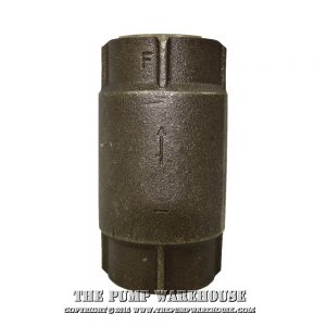 "Simmons 1"" Check Valve - 503SB"